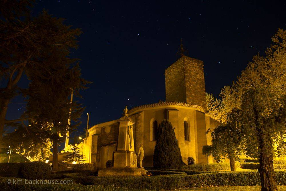 The Village Church at Night, Agel