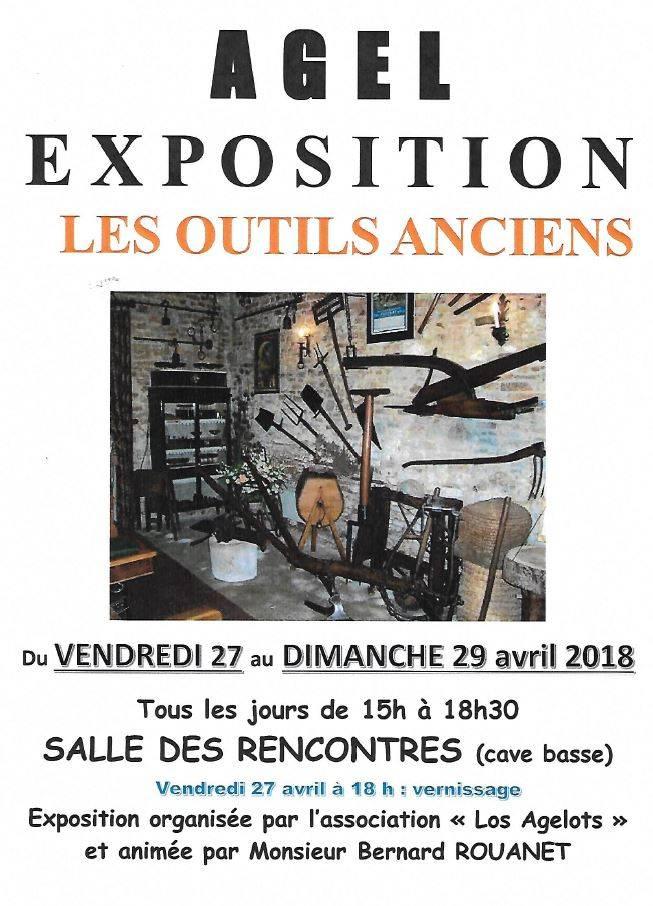 Exposition - Les Outils Anciens @ Salle des rencontres (cave basse) | Agel | Occitanie | France