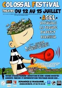Colossal Festival théâtre @ Cour des caves de la Mairie | Agel | Occitanie | France