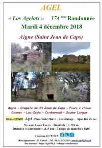 Randonnée à Aigne (St Jean de Caps)