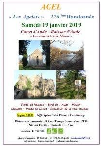 Randonnée Canet et  Raissac d'Aude