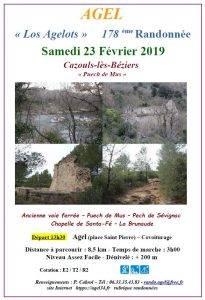 Randonnée à Cazouls-lès-Béziers