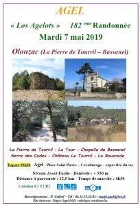 Randonnée  Olonzac  La Pierre de Tourril - Bassanel @ Olonzac