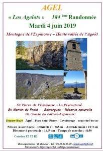 """Randonnée """"Montagne de l'Espinouse - Haute vallée de l'Agoût"""""""