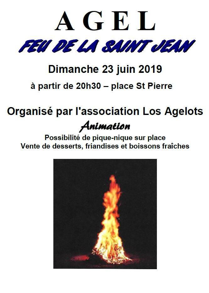 Feu de la St Jean @ Place St Pierre | Agel | Occitanie | France