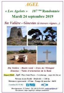 """Randonnée Ste Valière - Ginestas """"à travers vignes..."""""""