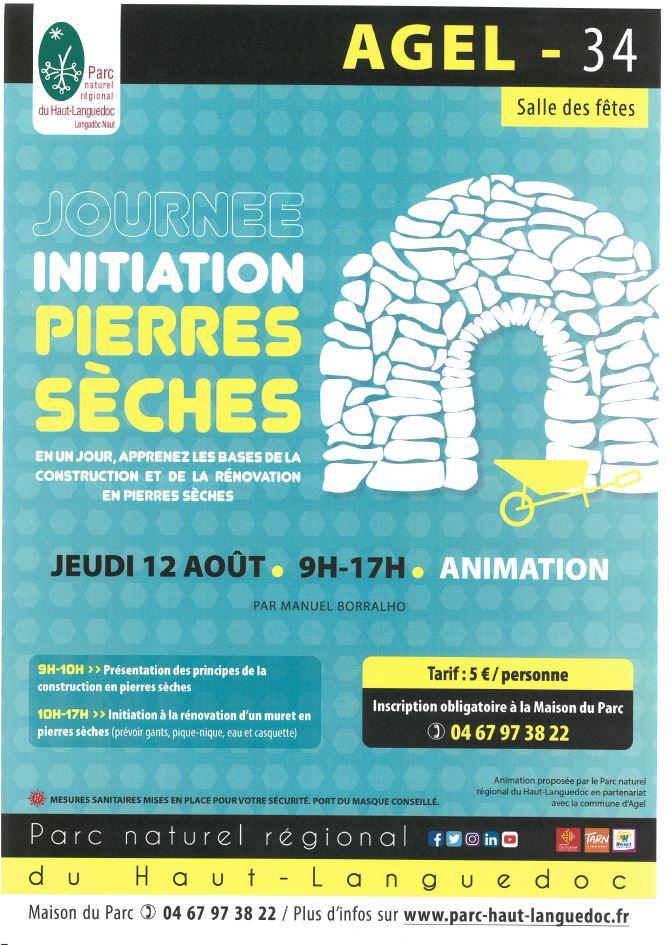 Journée Initiation  Pierres Sèches @ AGEL